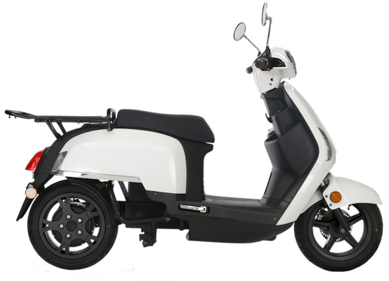 cargo chic cruisrent scooter electrique