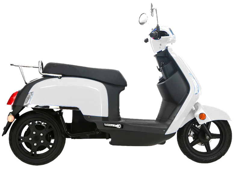 chic bi-place cruisrent scooter electrique