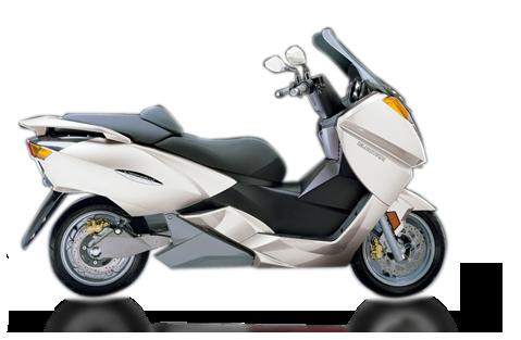 vectrix VX1 blanc scooter electrique