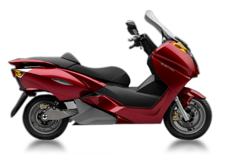 vectrix VX1 rouge scooter electrique