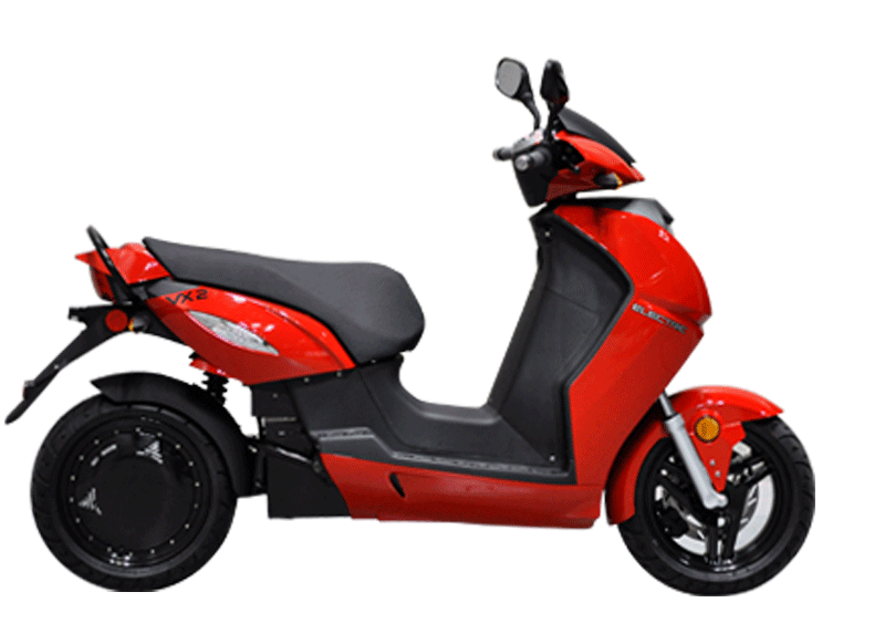 vectrix vx-2 rouge scooter electrique