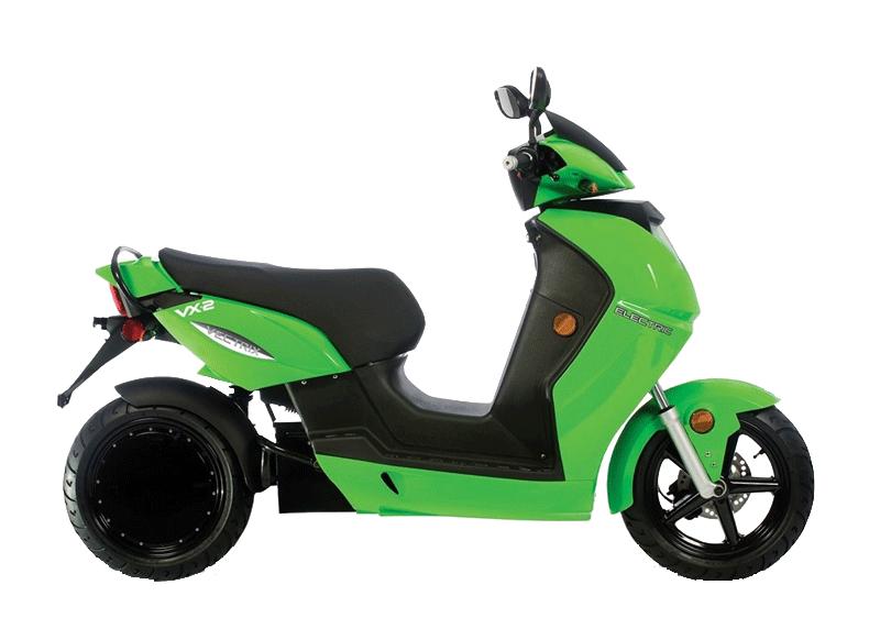 vectrix vx-2 vert scooter electrique